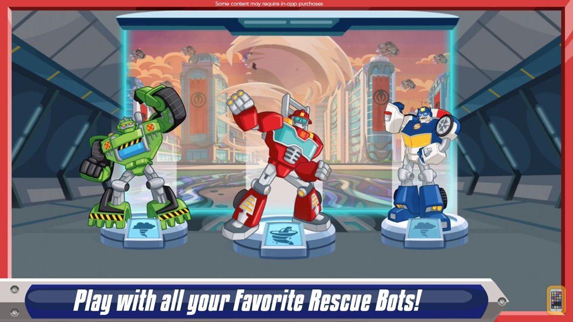 Screenshot - Transformers Rescue Bots: Dash