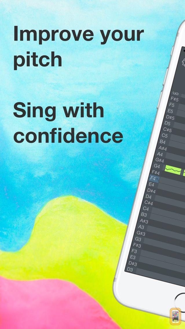 Screenshot - OnPitch - Vocal Pitch Monitor