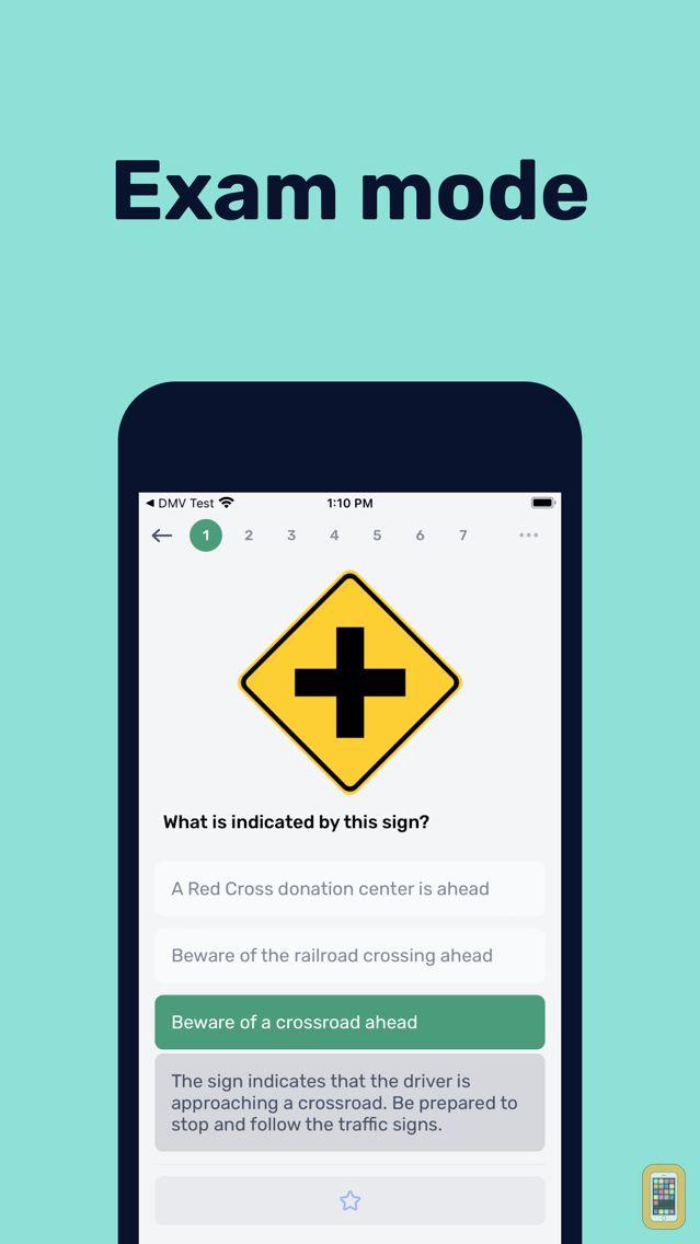 Screenshot - DMV Permit Practice Test - Hub