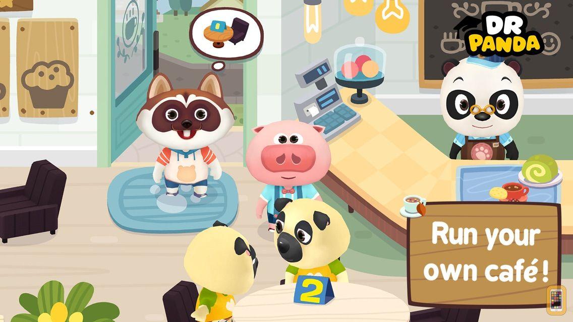 Screenshot - Dr. Panda Cafe