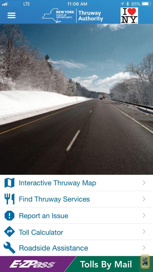Screenshot - NYS Thruway Authority