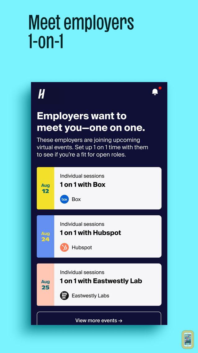 Screenshot - Handshake Jobs & Careers