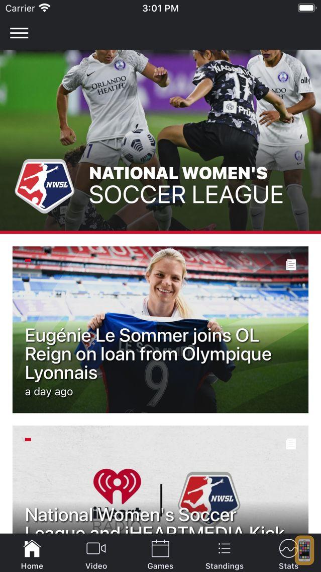 Screenshot - National Women's Soccer League