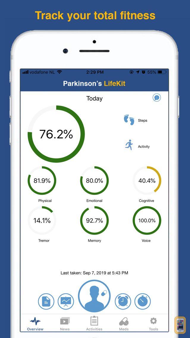 Screenshot - Parkinson's LifeKit