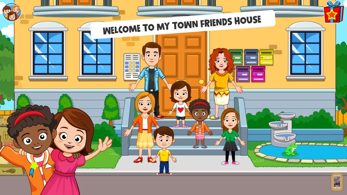 Screenshot - My Town : Best Friends' House