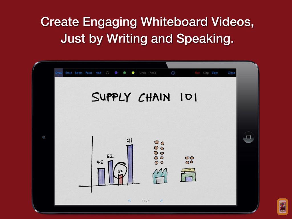 Screenshot - Vittle: Smart Whiteboard Video