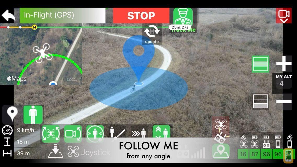 Screenshot - Mavic FPV - Waypoint & VR