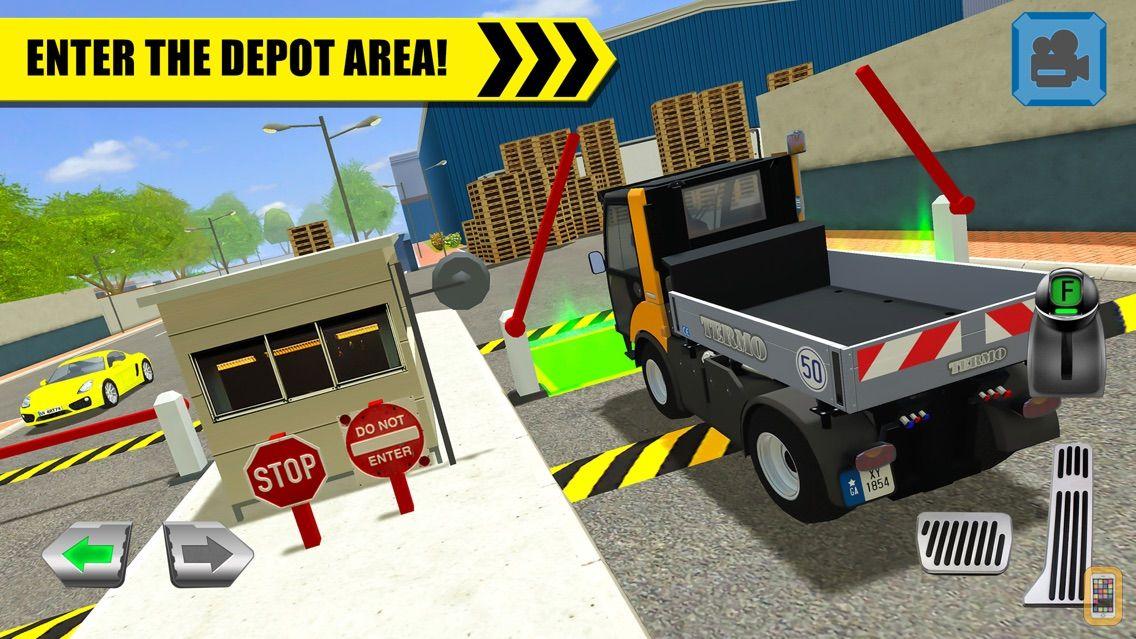 Screenshot - Truck Driver: Depot Parking Simulator