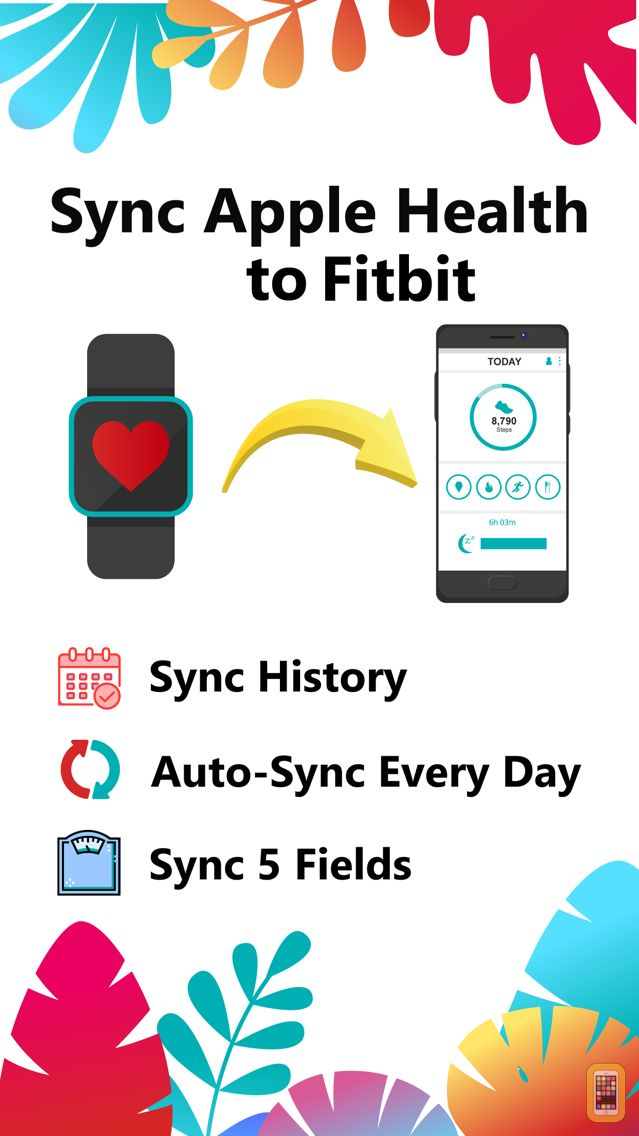 Screenshot - Sync For Apple Health > Fitbit