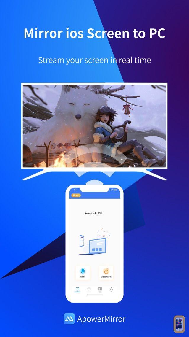 Screenshot - ApowerMirror - Mirror&Reflect