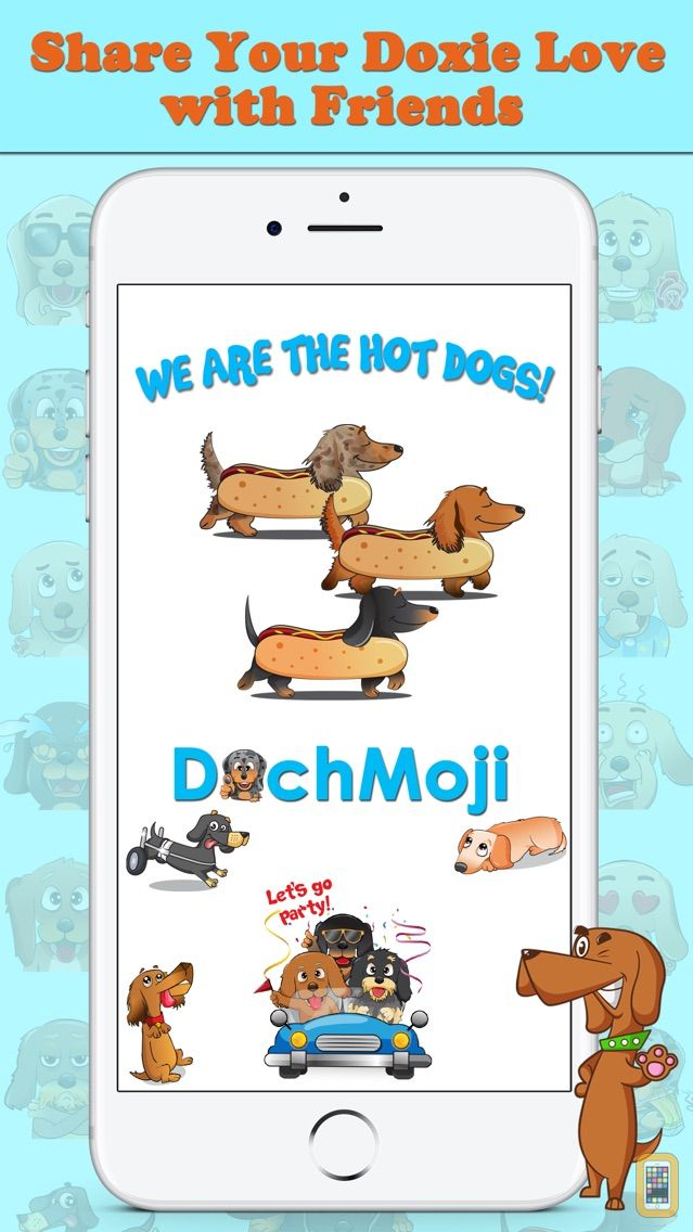 Screenshot - DachMoji: Dachshund Stickers