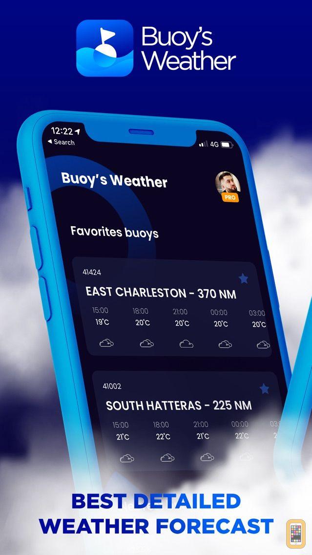 Screenshot - NOAA Marine Weather