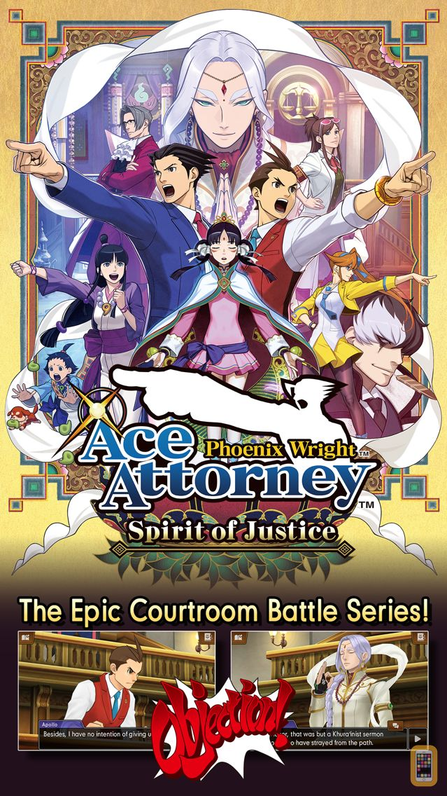 Screenshot - Phoenix Wright: Ace Attorney - Spirit of Justice