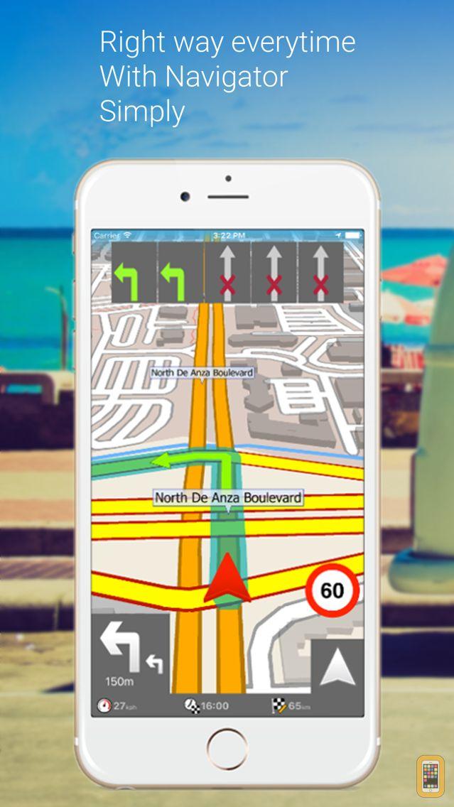 Screenshot - MapFactor Navigator - GPS Maps