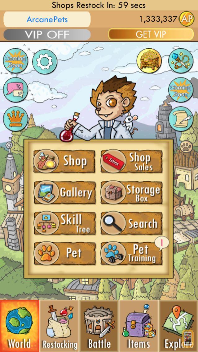 Screenshot - Arcane Pets: A Plushie Story