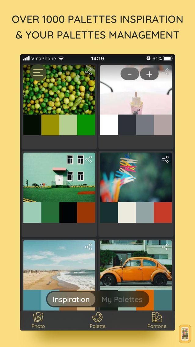 Screenshot - iPalettes - Color palettes