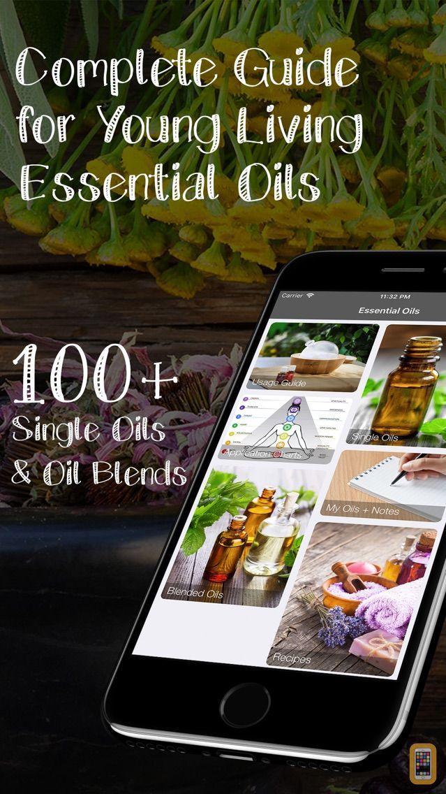 Screenshot - Essential Oils - Young Living