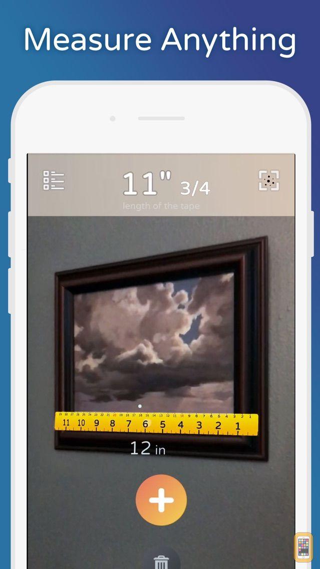 Screenshot - AirMeasure - AR Tape & Ruler