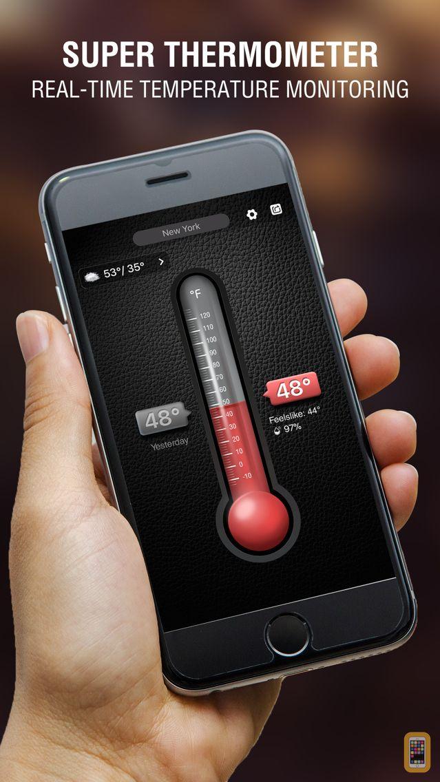 Screenshot - Thermometer&Temperature app