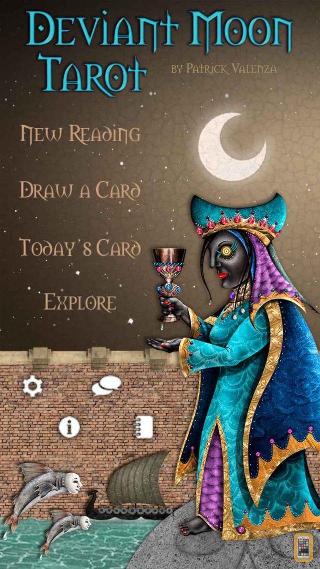 Screenshot - Deviant Moon Tarot