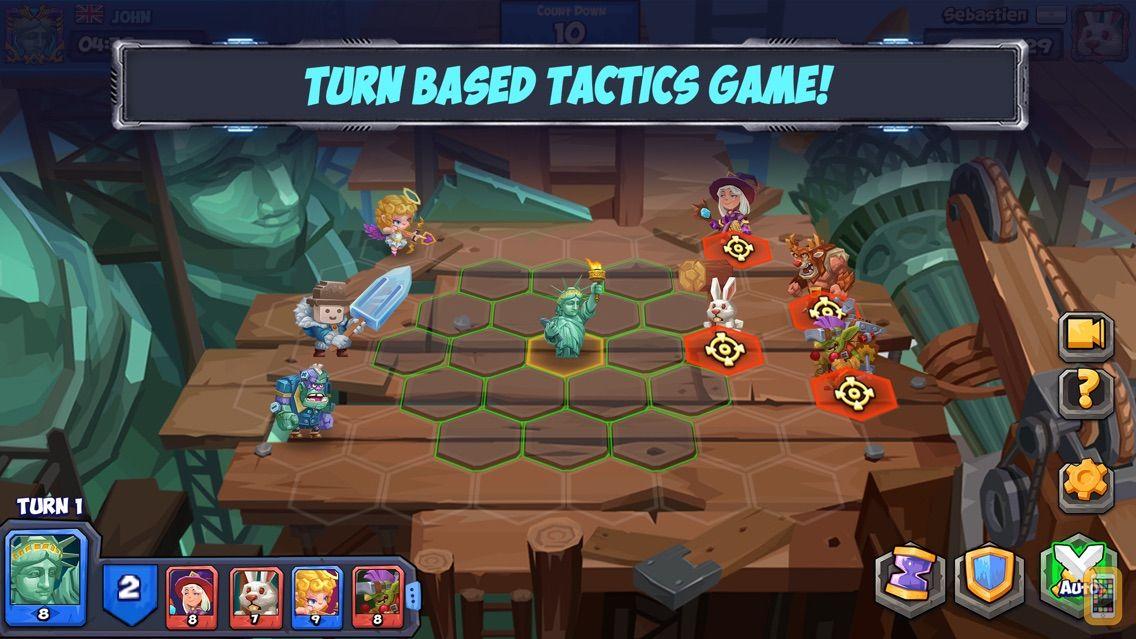 Screenshot - Tactical Monsters Rumble Arena