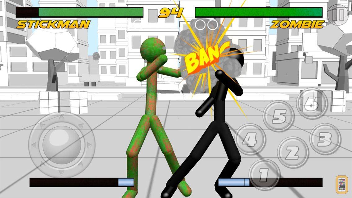Screenshot - Stickman Fighting 3D