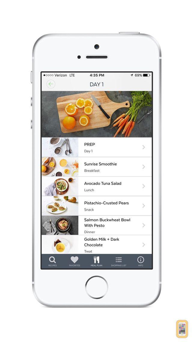 Screenshot - Clean-Eating Plan and Recipes