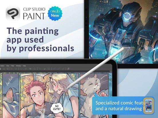 Screenshot - CLIP STUDIO PAINT for manga