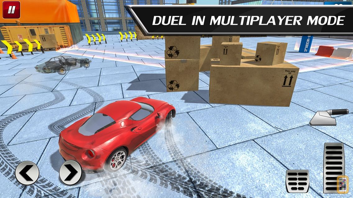 Screenshot - Car Drift Duels: Roof Racing