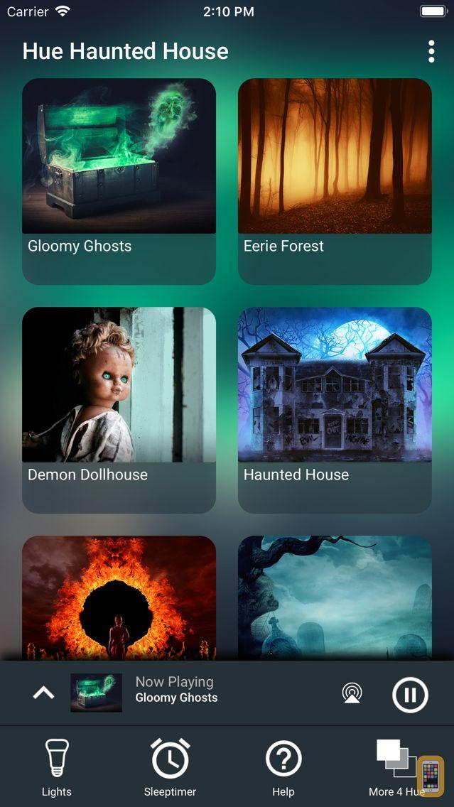 Screenshot - Hue Haunted House