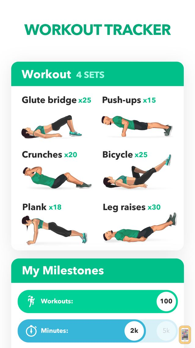 Screenshot - Home Fitness Workout by GetFit