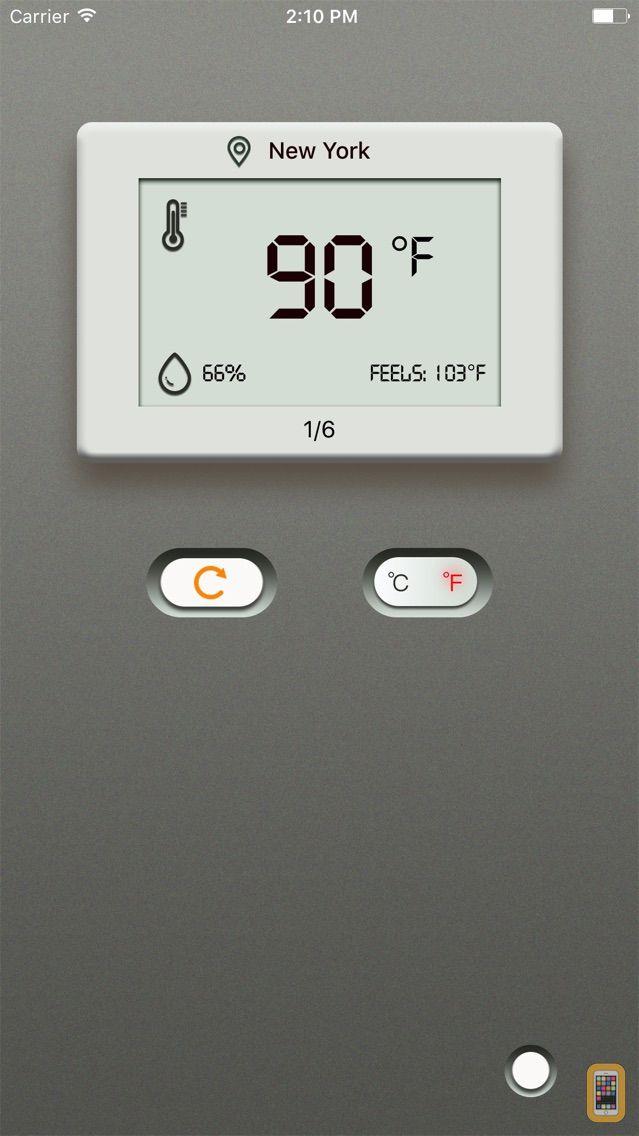 Screenshot - Digital Thermometer +