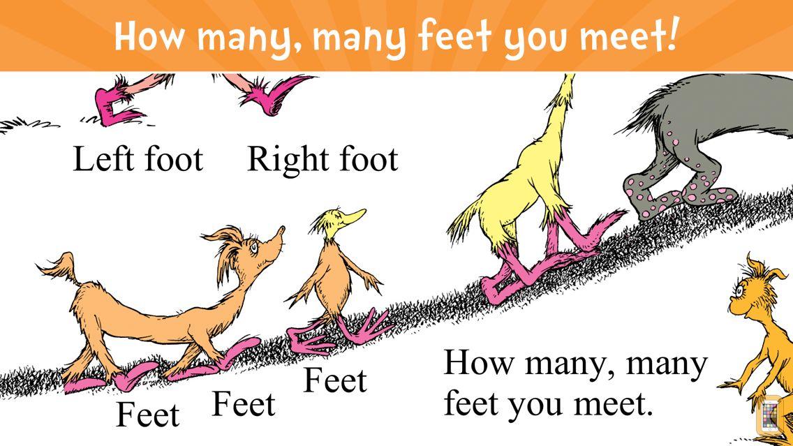 Screenshot - The Foot Book - Read & Learn