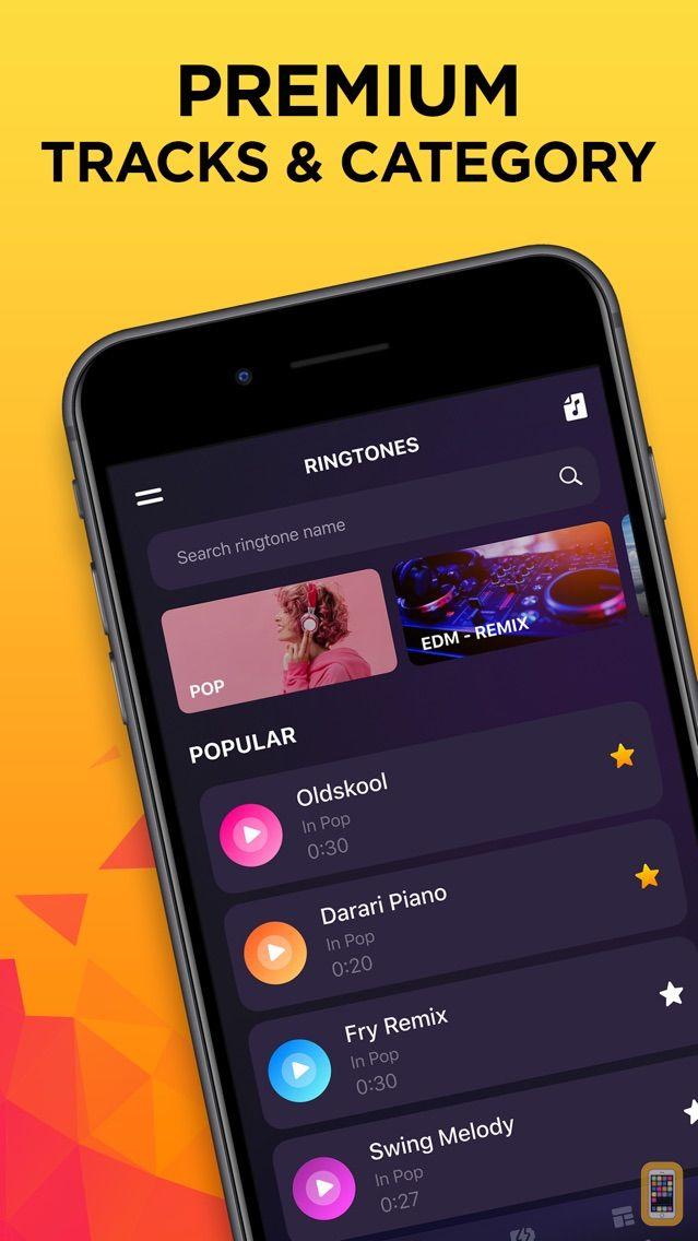 Screenshot - Ringtones for iPhone (Song)