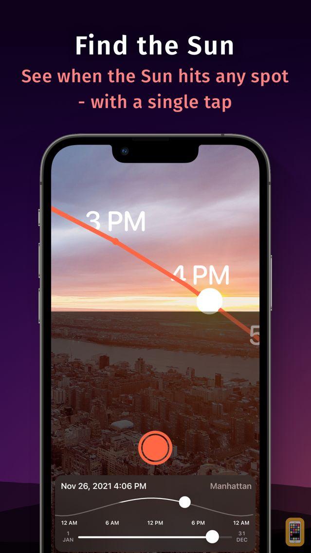 Screenshot - Helioseek Sun and Twilight Map