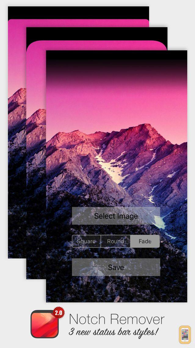 Screenshot - Notch Remover