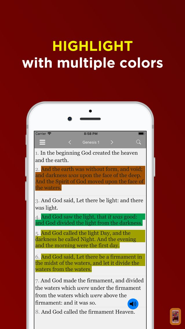 Screenshot - KJV Bible Offline - Audio KJV
