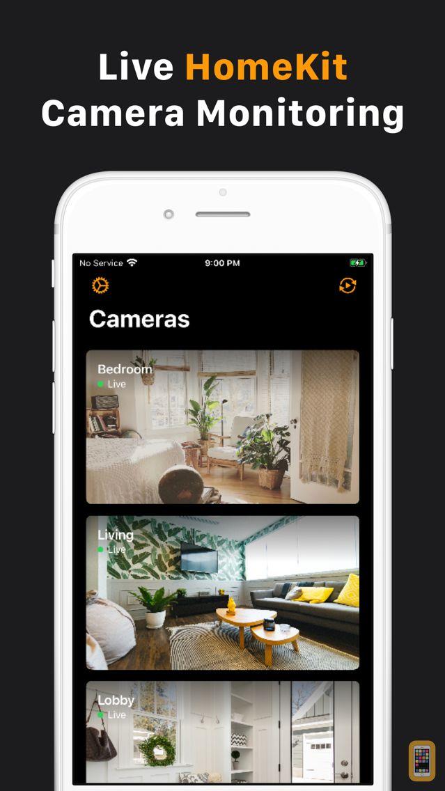 Screenshot - HomeCam for HomeKit