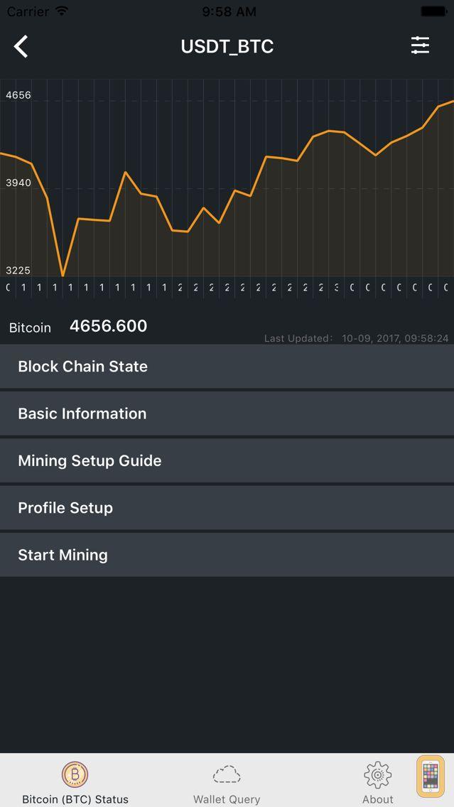 Screenshot - Bitcoin Miner CPU (BTC) Gold