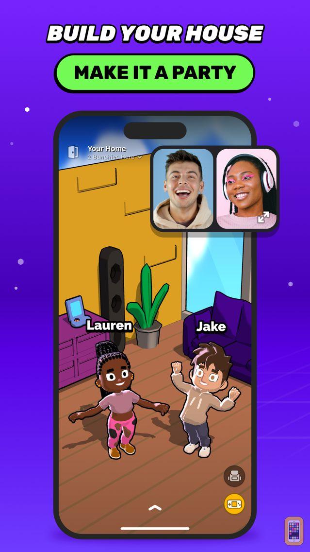 Screenshot - Bunch Group Video Chat & Games