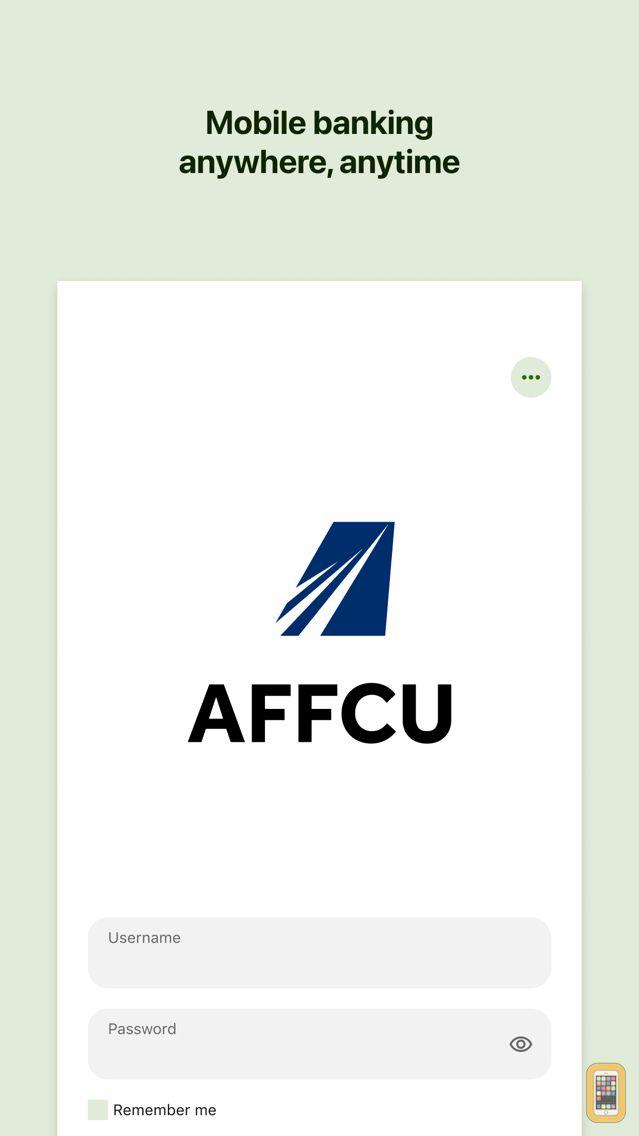 Screenshot - Go AFFCU