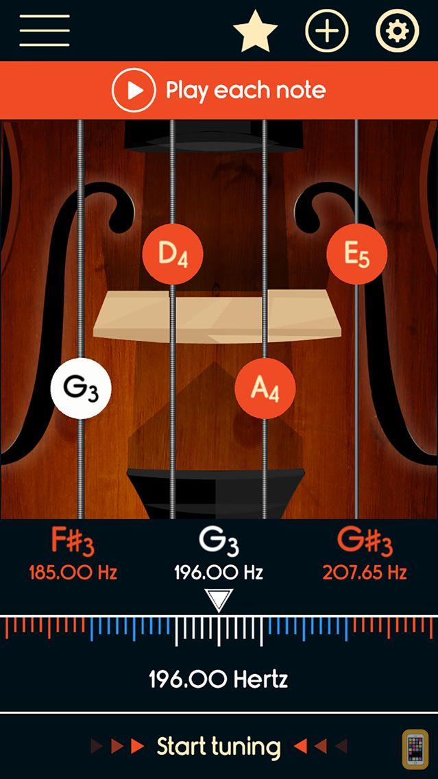 Screenshot - Violin Tuner Master