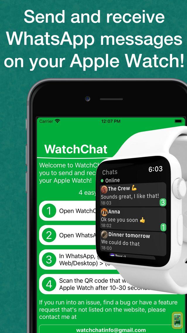 Screenshot - WatchChat for WhatsApp