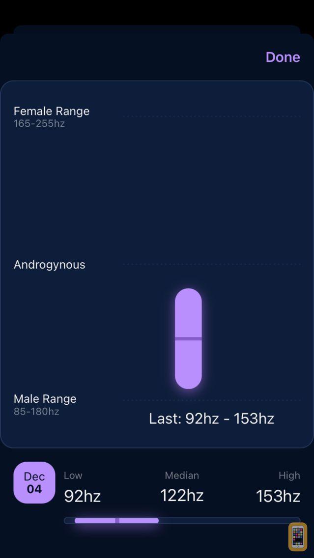 Screenshot - Voice Pitch Analyzer