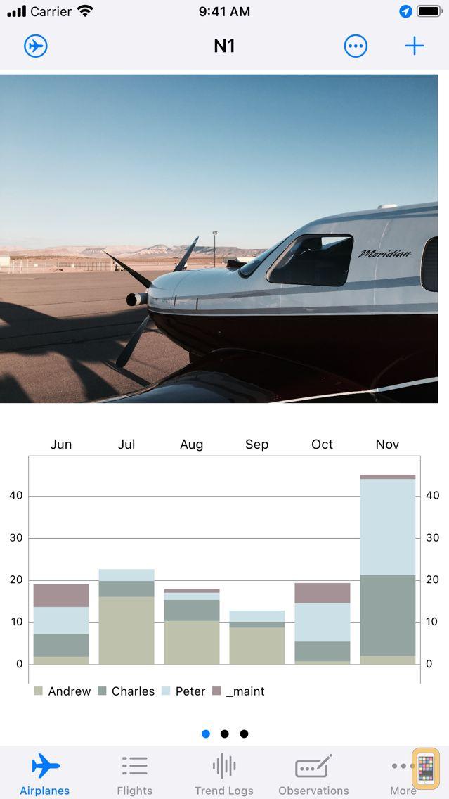Screenshot - aeroLogbook