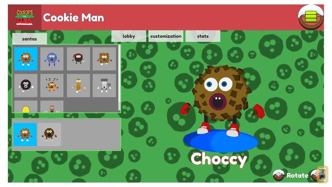 Screenshot - Cookies vs. Claus