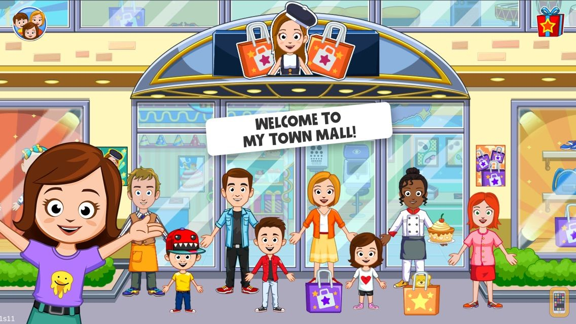 Screenshot - My Town : Shopping Mall