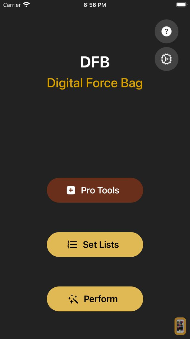 Screenshot - Digital Force Bag