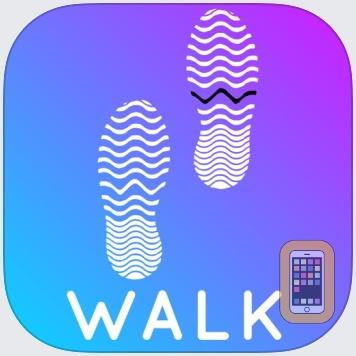 Walkster: Walking Step Tracker by Bickster LLC (iPhone)