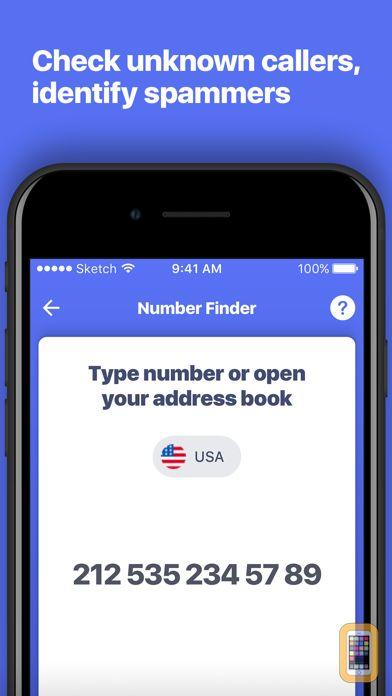Screenshot - Number Finder - Reverse Lookup